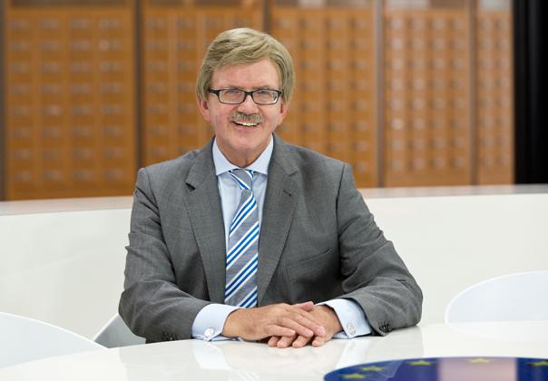 Der Schwalbacher Europaabgeordnete Thomas Mann (CDU)