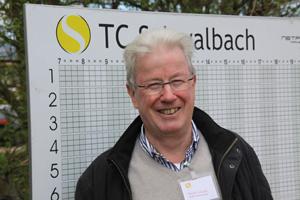 TC-Vorsitzender Harald Schmidt. Foto: Schöffel