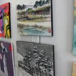 Zwei der wenigen Bilder, die koreanische Kunst zeigen. Foto: Tulacek