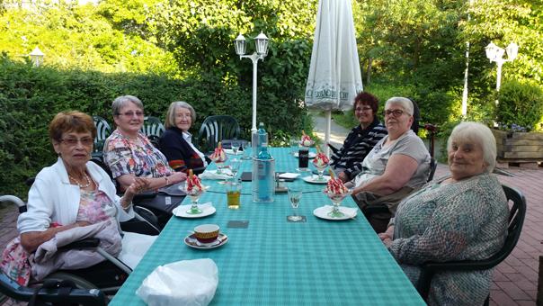 Im Sulzbacher Eichwald-Restaurant feierte die Behinderten-Selbsthilfe ihr Jubiläum. Foto: privat